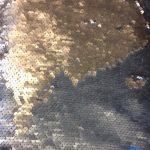 Paliettstoff gull/ sølv