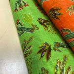 Viskose/ bomull med kaktus