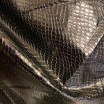Skinn imitasjon svart slange
