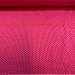 Bomullsjersey med rosa små prikker