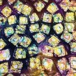 Batikk bomulls kanvas