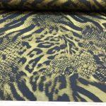 Bomullsjersey  dyr mønster