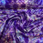 Lycra snakeshell lilla 300g