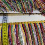 Rainbow frynser 10 cm