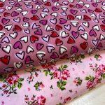 Bomull rosa toner